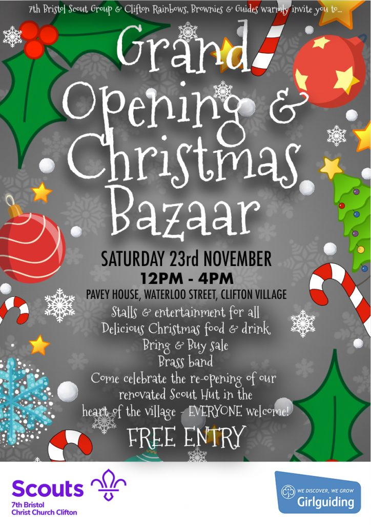 Grand Opening & Christmas Bazaar